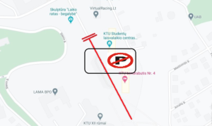 Vehicles parking on 17th – 23 th of June